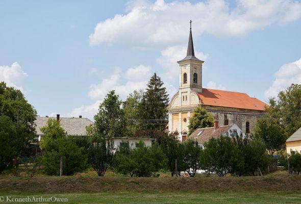 Ibafa templom
